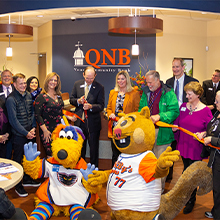 QNB Bank's Allentown Office grand opening and ribbon cutting ceremony.