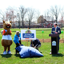 QuiNBy's Playground Groundbreaking April 2021