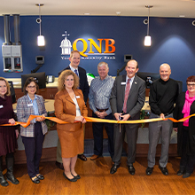 QNB Upper Perkiomen Valley Office Ribbon Cutting